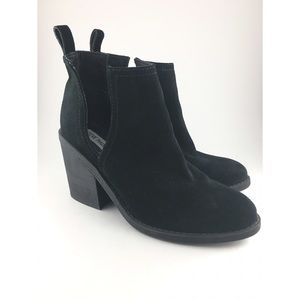 Steve Madden | Sharini Suede Leather Ankle Booties